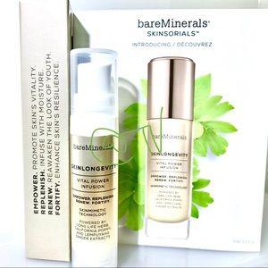 4/$25 BareMinerals Skinlongevity Vital Power Serum